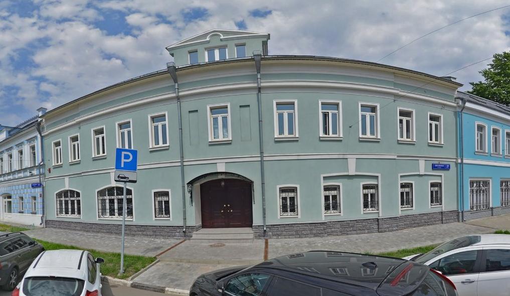 Москва, Школьная, 27. Фото сервиса «Яндекс.Карты»